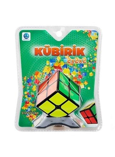Sunman Smile Games Kübirik Rubik 2X2X2 Eğitici Oyuncak Zeka Sabır Küpü Renkli